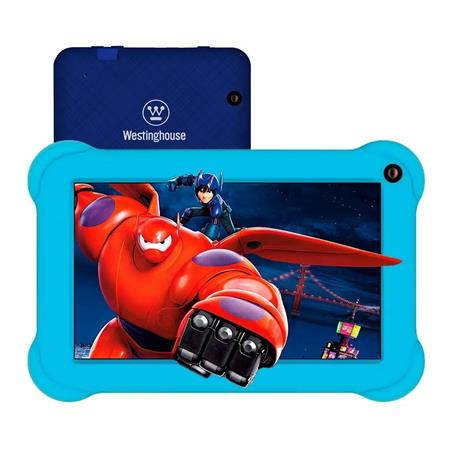 "TABLET 7"" WESTINGHOUSE W7TBL19 QUAD CORE 1GB 16GB DUAL CAM WIFI ANDROID GO FUNDA KID"