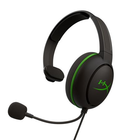 AURICULAR C/MIC VINCHA HYPERX CLOUD CHAT XBOX BLACK/GREEN