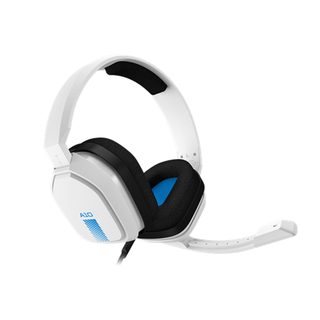 AURICULAR C/MIC VINCHA LOGITECH ASTRO A10 PC/PS4/XBOX/SWITCH WHITE/BLUE