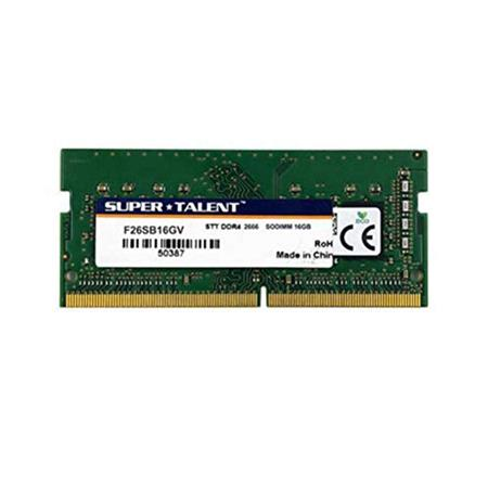 MEMORIA SODIMM DDR4 16GB 2666 SUPERTALENT CL19