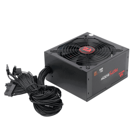 FUENTE 600W REDRAGON GC-PS002 80 PLUS BRONCE