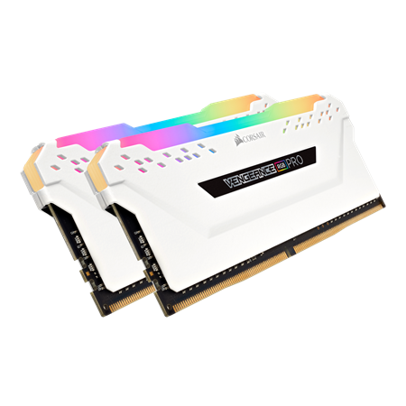 MEMORIA DDR4 16GB 3600 CORSAIR VENGEANCE RGB PRO CL16 WHITE (2x8GB)