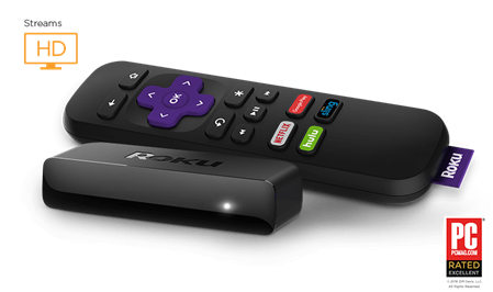 ROKU EXPRESS 3700XB SREAMING MEDIA PLAYER NETFLIX YOUTUBE