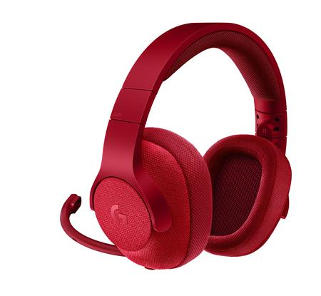 AURICULAR LOGITECH G433 7.1 SURROUND RED