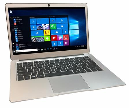 "NOTEBOOK ULTRABOOK 13"" SILVERSTONE STV131-1 QUAD CORE 4GB 32GB HD WIN 10"