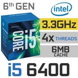 MICRO INTEL CORE i5 6400 3.3GHZ SKYLAKE 1151