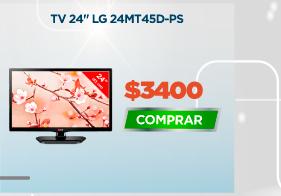 """TV 24"""" LG 24MT45D-PS"""