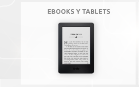 EBOOKS Y TABLETS
